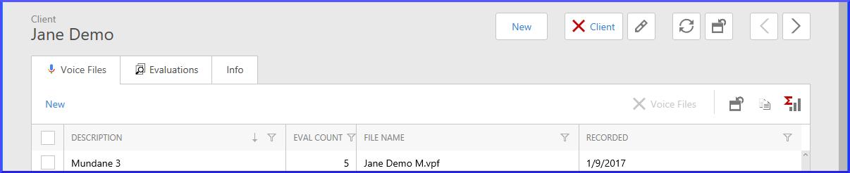 Client Folder Functions